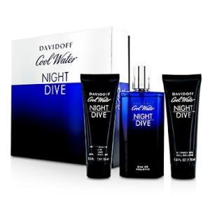 ダビドフ Davidoff 香水 クール ウォーター ナイト ダイブ コフレ 3pcs|shop-belleza