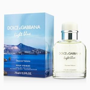 ドルチェ&ガッバーナ Dolce & Gabbana 香水 ライト ブルー ディスカバー ヴルカーノ オードトワレ スプレー 75ml/2.5oz|shop-belleza