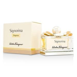 フェラガモ Salvatore Ferragamo 香水 シニョリーナ エレガンツァ オードパルファム スプレー 100ml/3.4oz|shop-belleza