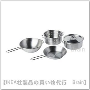 IKEA/イケア DUKTIG/ドゥクティグ 調理器具 4点セット おままごと