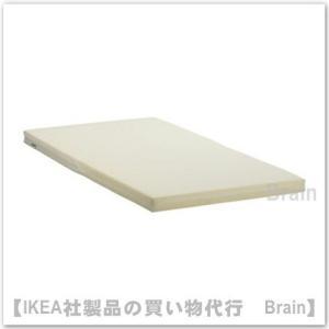 IKEA/イケア VYSSA SLAPPNA ベビーベッド用マットレス60x120 cm ホワイト|shop-brain