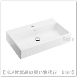IKEA/イケア YDDINGEN シングル洗面ボウル70x42x14 cm ホワイト|shop-brain