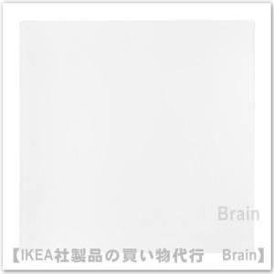 IKEA/イケア LURVIG ランチョンマット フードボウル用33x33 cm ホワイト|shop-brain