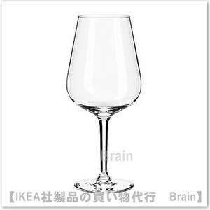 IKEA/イケア HEDERLIG 赤ワイングラス22 cm|shop-brain