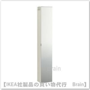 ■カラー:ホワイト/ミラー  ■商品の大きさ 幅: 30 cm 奥行き: 21 cm 高さ: 179...