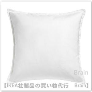 IKEA/イケア GURLI クッションカバー50x50 cm ホワイト