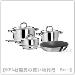 IKEA/イケア OUMBARLIG 調理器具 7点セット ステンレススチール