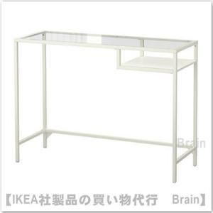 ■カラー:ホワイト/ガラス  ■商品の大きさ 幅: 100 cm 奥行き: 36 cm 高さ: 74...