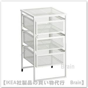 IKEA/イケア LENNART 引き出しユニット ホワイト|shop-brain