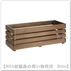 IKEA/イケア STJARNANIS フラワーボックス75x27 cm アカシア材