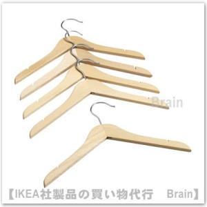 IKEA/イケア HANGA 子供用ハンガー 5個セット ナ...