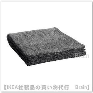 IKEA/イケア GURLI ひざ掛け120x180 cm グレー/ブラック