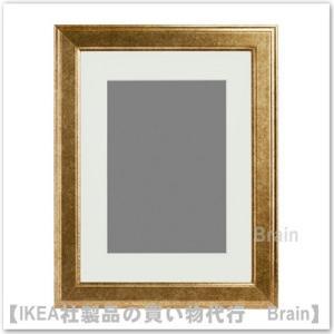 IKEA/イケア VIRSERUM フレーム/38×48cm ゴールドカラー