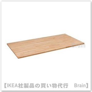 IKEA/イケア GERTON テーブルトップ155x75 cm ビーチ