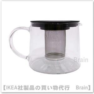 IKEA/イケア RIKLIG ティーポット1.5L ガラス|shop-brain