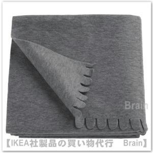 IKEA/イケア POLARVIDE ひざ掛け130x170 cm グレー
