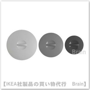 IKEA/イケア KLOCKREN シリコンゴム多機能ふた 3点セット