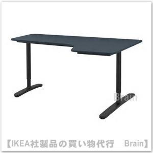 ■カラー:リノリウム ブルー/ブラック  ■商品の大きさ 長さ: 160 cm 奥行き: 110 c...