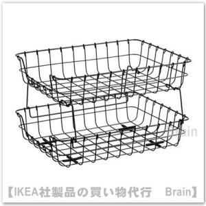 IKEA/イケア PLEJA レタートレイ ブラック