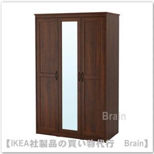 ■カラー:ブラウン/ミラーガラス  ■商品の大きさ 幅: 120 cm 奥行き: 60 cm 高さ:...