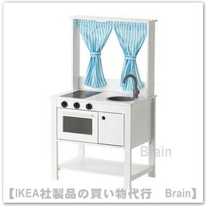 IKEA/イケア SPISIG おままごとキッチン カーテン付き