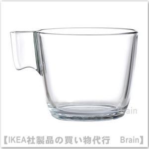 IKEA/イケア STELNA  マグ クリアガラス...