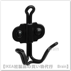 ■カラー:ブラック  ■商品の大きさ 奥行き: 4 cm 高さ: 8 cm 最大荷重/フック: 4 ...