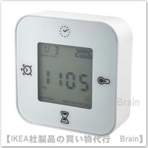 IKEA/イケア KLOCKIS 時計/温度計/アラーム/タ...