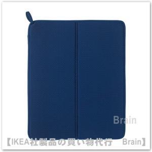 IKEA/イケア NYSKOLJD 食器用水切りマット ブルー