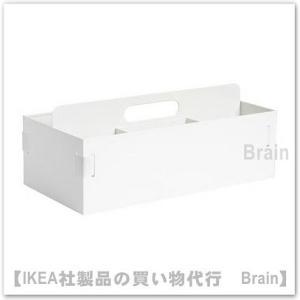 ■カラー:ホワイト  ■商品の大きさ 長さ: 18 cm 幅: 36 cm 高さ: 14 cm   ...