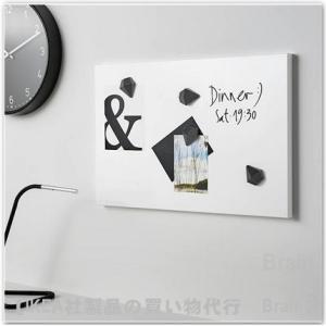 IKEA/イケア SVENSAS メモボード40x60 cm ホワイト|shop-brain|02