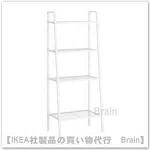 IKEA/イケア LERBERG シェルフユニット60x148 cm ホワイト|shop-brain