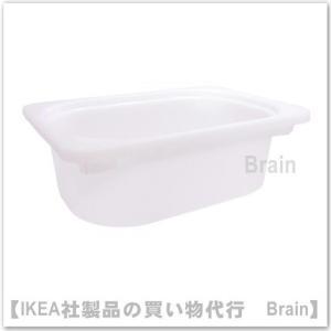 IKEA/イケア TROFAST 収納ボックス20x30x10 cm ホワイト
