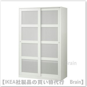 IKEA/イケア KVIKNE  ワードローブ ホワイト|shop-brain
