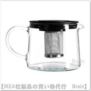 IKEA/イケア RIKLIG ティーポット0.6 L ガラス|shop-brain