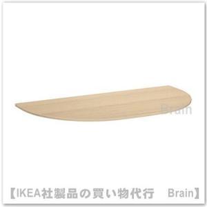■カラー:ホワイトステインオーク材突き板  ■商品の大きさ 長さ: 140 cm 幅: 70 cm ...