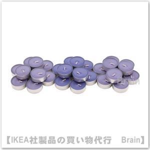 IKEA/イケア SINNLIG 香り付ティーライト38 mm/30個セット ブラックベリー/ライラック