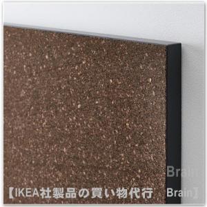 IKEA/イケア SVENSAS メモボード ピン付き35x60 cm ダークブラウン/コルク|shop-brain|03
