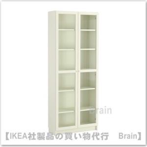 ■カラー:ホワイト  ■商品の大きさ 幅: 80 cm 奥行き: 30 cm 高さ: 202 cm ...