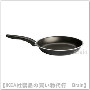 IKEA/イケア KAVALKAD フライパン24cm ブラック