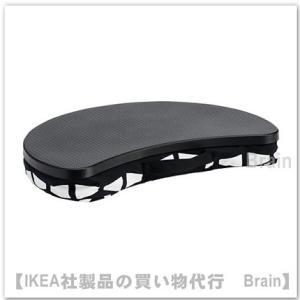 IKEA/イケア BYLLAN ラップトップテーブル ブラック/ホワイト
