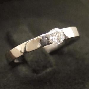カルティエ K18WG ダイヤモンド リング 9号 新品仕上げ|shop-brandreshopfuji