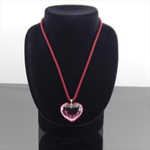バカラ ネックレス SV925 クリスタルガラス ピンク shop-brandreshopfuji