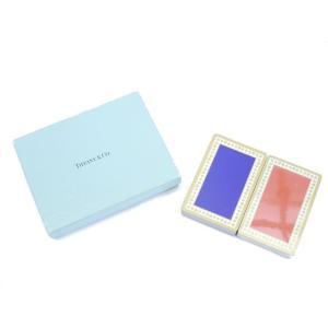 美品 ティファニー トランプセット ブルー レッド|shop-brandreshopfuji