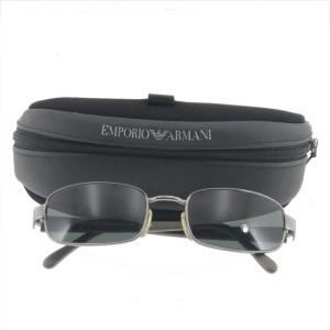 エンポリオアルマーニ サングラス ブラック メタルレディース|shop-brandreshopfuji