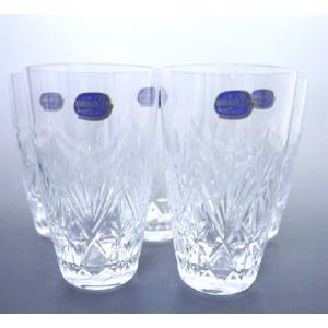 未使用 展示品 ボヘミア グラス 5客セット クリスタルガラス|shop-brandreshopfuji
