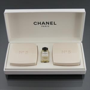未使用 シャネル No.5 石鹸  2個 オープルミエール 7ml セット|shop-brandreshopfuji