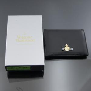 美品 ヴィヴィアンウエストウッド カードケース ブラック|shop-brandreshopfuji