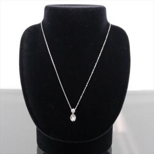 美品 スワロフスキー ネックレス クリスタル シルバー|shop-brandreshopfuji