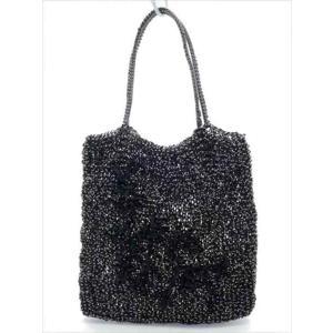 アンテプリマ ワイヤーバッグ ブラック レディース 鞄|shop-brandreshopfuji